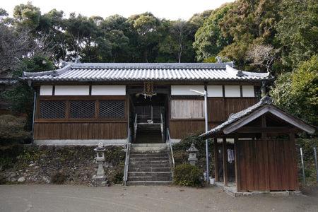 西岩代八幡神社