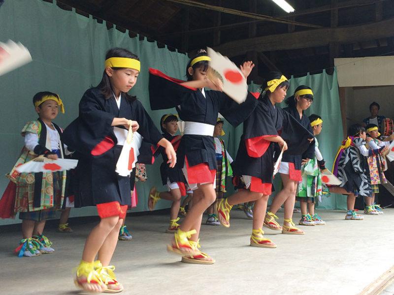 東西岩代八幡神社の秋祭り