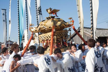 鹿島神社の秋祭り