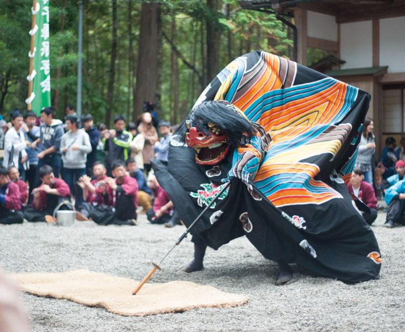 清川天宝神社の祭り